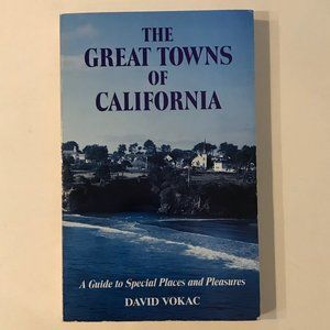 VINTAGE The Great Towns of California book
